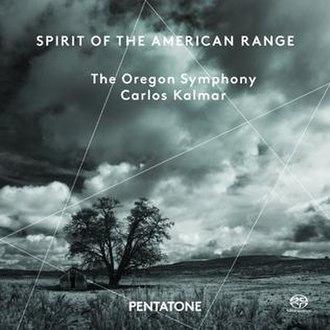 Spirit of the American Range - Image: Spirit of the American Range, Oregon Symphony