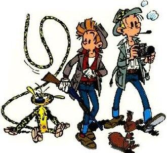 Spirou et Fantasio - Image: Spirou ensemble 1