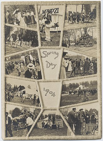 Slope Day - Slope Day, then known as Spring Day, in 1904