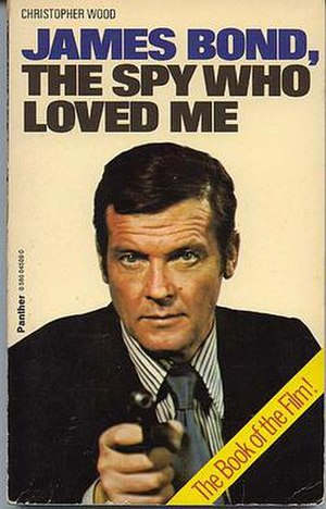 James Bond, The Spy Who Loved Me - 1977 Triad/Panther British paperback edition