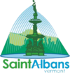 Official seal of St. Albans City, Vermont