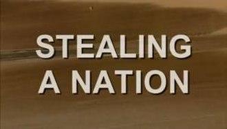 Stealing a Nation - Screenshot of title card
