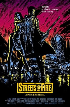 Streets of Fire - Theatrical release poster
