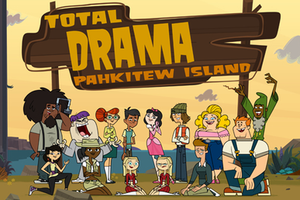 Total Drama All-Stars and Pahkitew Island - These are the fourteen new characters that were introduced in the second part of this season. Listed from left to right in order: Standing: Beardo, Max, Scarlett, Dave, Ella, Shawn (French Canadian winner), Sugar, Leonard Sitting: Sky (English Canadian winner), Jasmine, Samey, Amy, Topher, Rodney