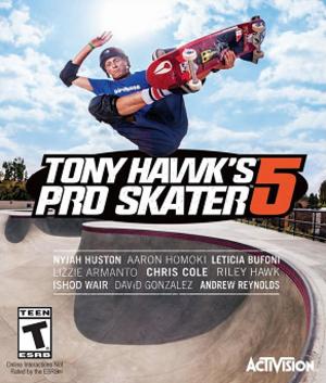 Tony Hawk's Pro Skater 5 - Image: THPS5 Box Art
