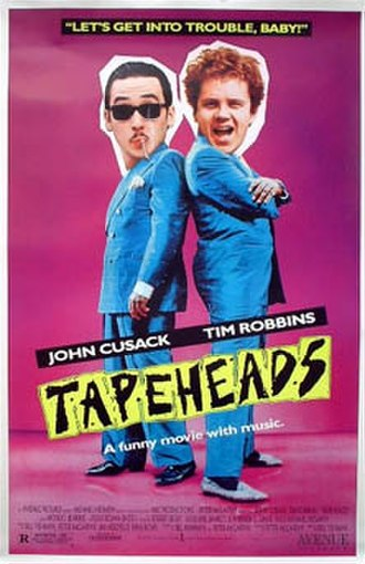 Tapeheads - Original movie poster
