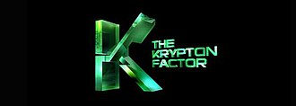 The Krypton Factor - The Krypton Factor logo from 2009 until 2010
