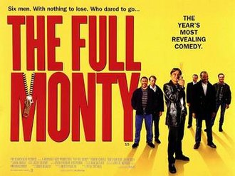 The Full Monty - Image: The Full Monty.U Ktheatricalposter
