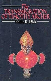 <i>The Transmigration of Timothy Archer</i> novel by Philip K. Dick