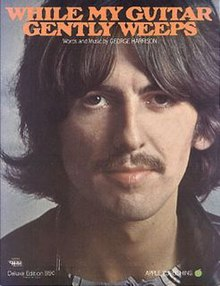 The Beatles' While My Guitar Gently Weeps sheet music cover.jpg