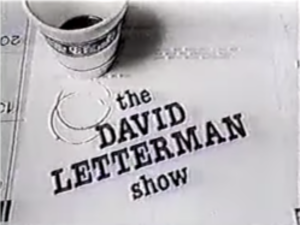 The David Letterman Show - Image: The David Letterman Show