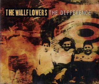 The Difference (The Wallflowers song) 1997 single by The Wallflowers