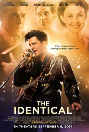 The Identical - Theatrical release poster