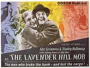 The Lavender Hill Mob - British quad poster