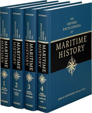 Oxford Encyclopedia of Maritime History - Image: The Oxford Encyclopedia of Maritime History (set)