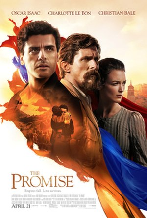The Promise (2016 American film) - Theatrical release poster