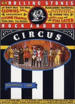 The Rolling Stones Rock and Roll Circus - Image: The Rolling Stones Rock and Roll Circus poster 300x 417px