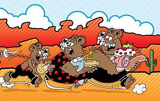 The Three Bears (comic strip) - Image: The Three Bears from The Beano