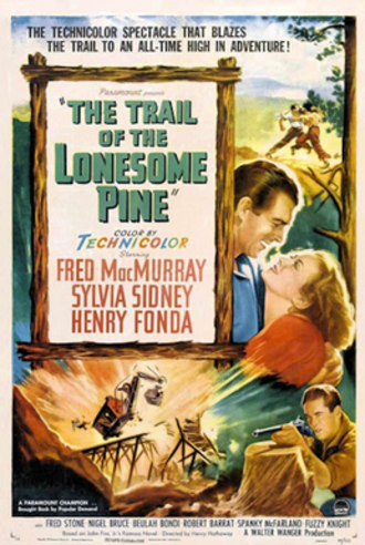 The Trail of the Lonesome Pine (1936 film) - 1936 theatrical poster