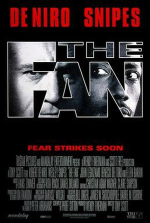 The Fan (1996 film) - Theatrical release poster