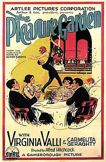 <i>The Pleasure Garden</i> (film) 1925 film by Alfred Hitchcock