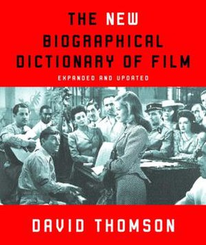 The New Biographical Dictionary of Film - cover of the 2004 paperback edition, featuring a still from the film To Have and Have Not