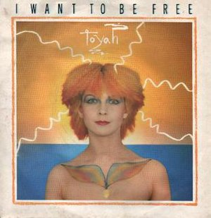 I Want to Be Free - Image: Toyah I Want to be Free