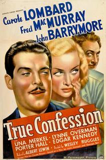 <i>True Confession</i> 1937 film