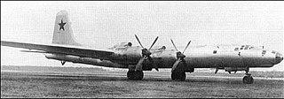 Tupolev Tu-85 Prototype strategic bomber aircraft based on Tu-4