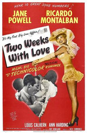 Two Weeks with Love - Film poster