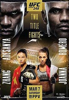 UFC 248 UFC mixed martial arts event in 2020