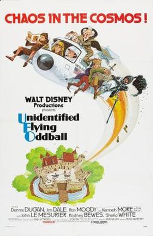 Unidentified Flying Oddball - Theatrical release poster