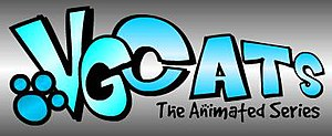 VG Cats - The logo for VG Cats: The Animated Series