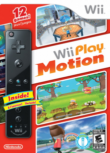 North American box bundle, which features a black Wii Remote Plus