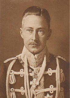 Wilhelm, German Crown Prince German Crown Prince