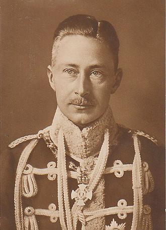 Wilhelm, German Crown Prince - Image: William, German Crown Prince