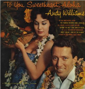 To You Sweetheart, Aloha - Image: Williams Sweetheart