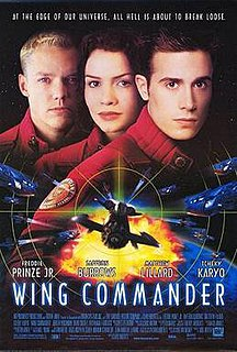 <i>Wing Commander</i> (film) 1999 science fiction film directed by Chris Roberts