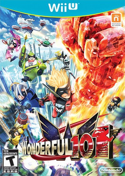 Picture of a game: The Wonderful 101
