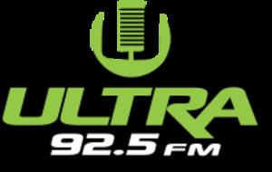 XHZM-FM - Image: XHQRV ultra 92.5 logo