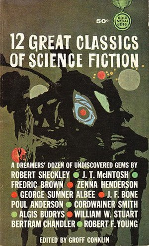 12 Great Classics of Science Fiction - cover of first edition