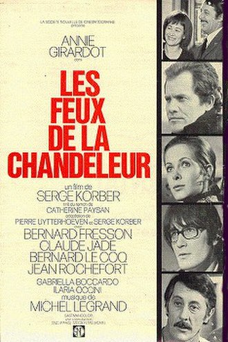 "Hearth Fires - Movie Poster ""Les Feux de la Chandeleur"""