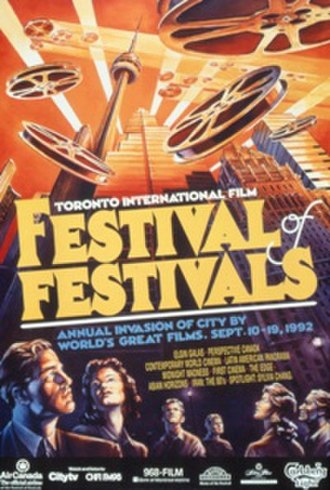 1992 Toronto International Film Festival - Festival poster