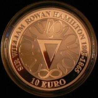 2003 Ireland 10 Euro Sir William Hamilton Reverse