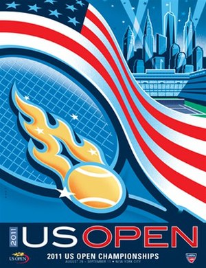 2011 US Open (tennis) - Image: 2011 US Open (tennis) poster