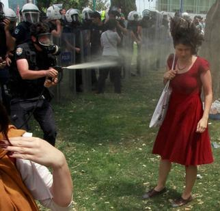 2013 protests in Turkey , Woman in Red image.jpeg