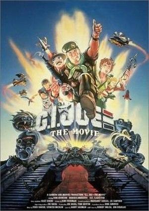 G.I. Joe: The Movie - North American VHS box art