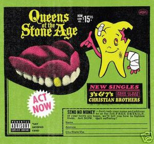 3's & 7's - Image: 3's & 7's (Queens of the Stone Age single cover art)