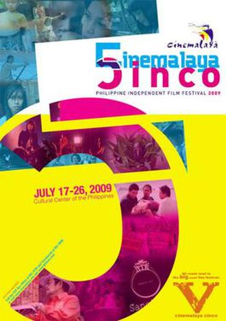 5th Cinemalaya Independent Film Festival - Official poster