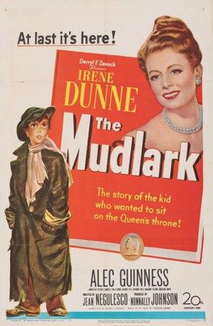 The Mudlark - Original film poster
